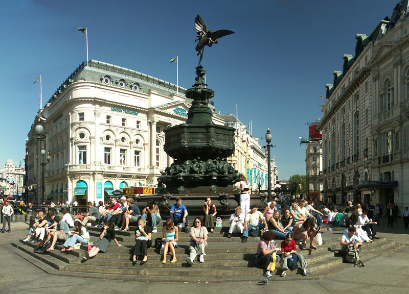 Eros,Picadilly Circus