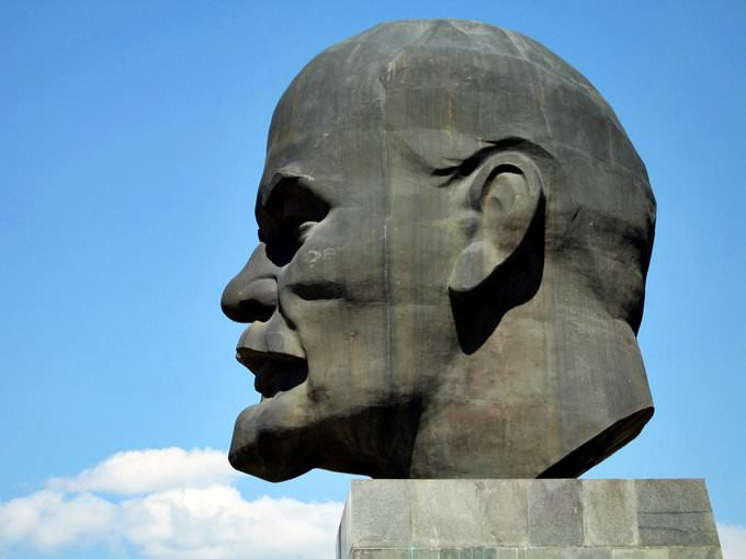The Magnificent Head of Lenin, Ulan Ude
