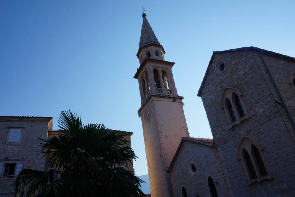 St. Ioann cathedral Budva old town