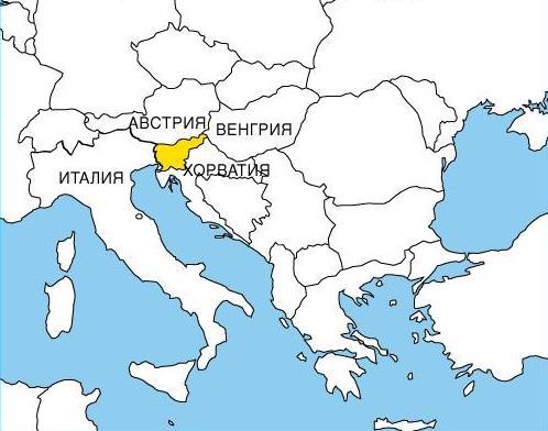 Dostoprimechatelnosti Slovenii Na Karte Dostoprimechatelnosti