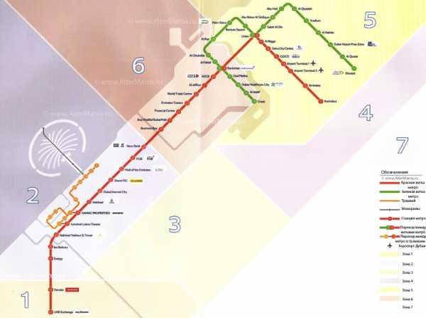 Схема метро дубай с достопримечательностями на русском как арендовать квартиру в дубае